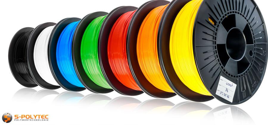 Neu in unserem Onlineshop – Filamente für den 3D-Druck