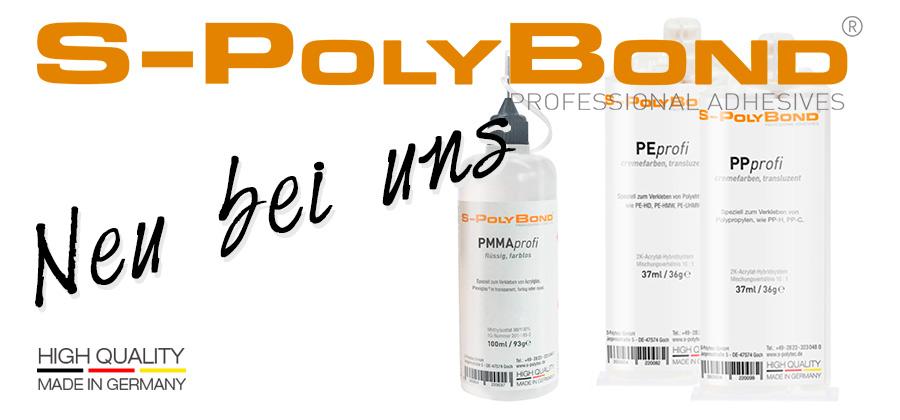 Neue Produkte bei S-Polytec