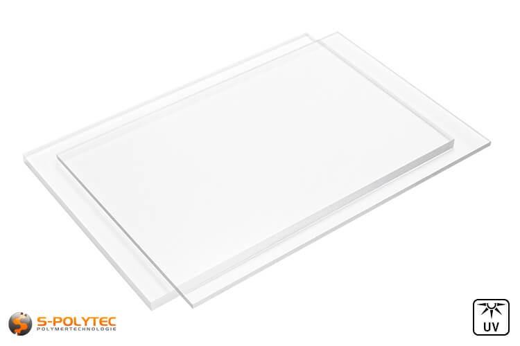 Acrylglas platen (PMMA) transparant in diktes vanaf 2mm - 10mm op maat