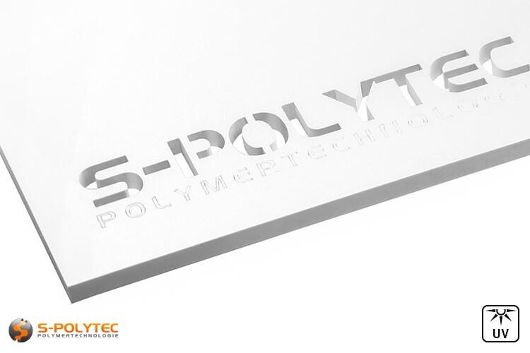 Configureer uw laserdelen van acrylglas in wit gemakkelijk online in onze configurator