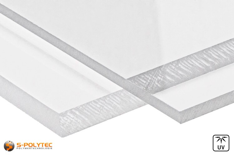 Polycarbonaat platen transparant op maat vanaf 3mm - 8mm dikte