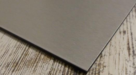 alu sandwich panelen edelstaal optiek op mat kopen s. Black Bedroom Furniture Sets. Home Design Ideas