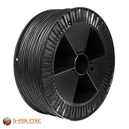 PE lasdraad zwart 4mm voor polyethyleen