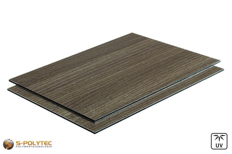 Alu sandwich panelen 3mm (Alu-Dibond) in houtoptiek essenhout kopen