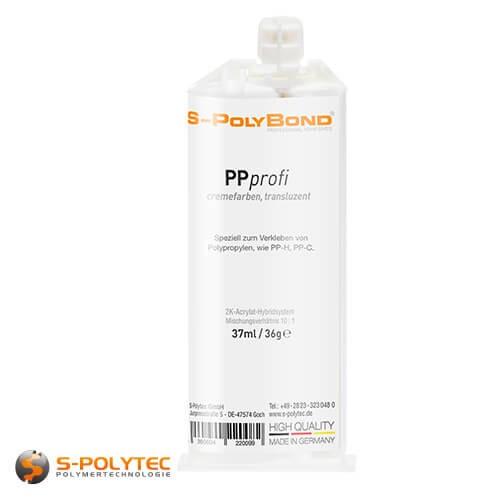 Polypropyleen lijm - PPprofi 37ml vor het lijmen van PP-H en PP-C